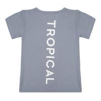 thumb-Little indians - T-shirt Tropical Flint stone-1
