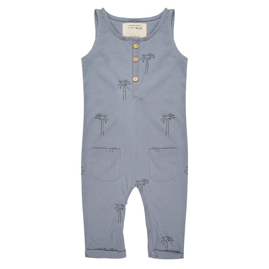 Little indians - Jumpsuit palmtrees flint stone-1