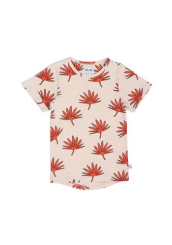 Palm leaf t-shirt dropback