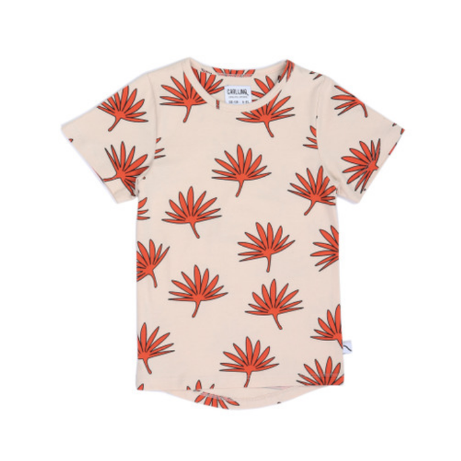 CarlijnQ - Palm leaf t-shirt dropback-1