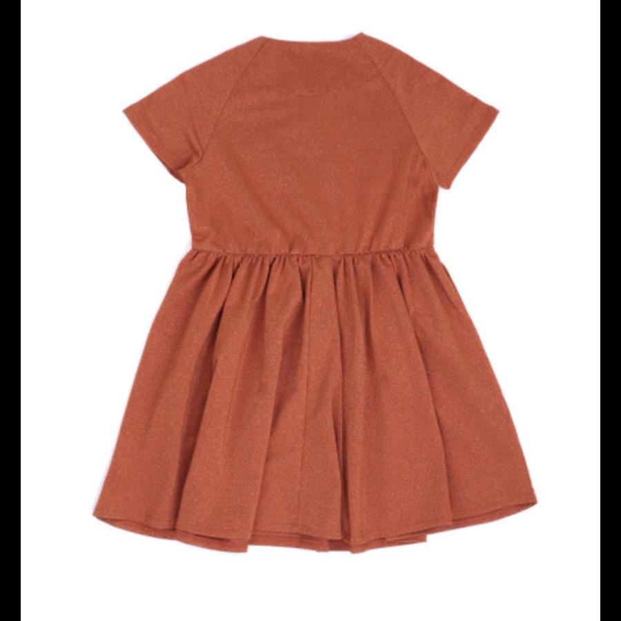 CarlijnQ - Glitter Dress woven-2