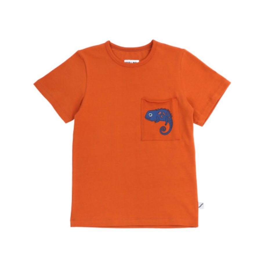 CarlijnQ - Chameleon t-shirt with pocket-1