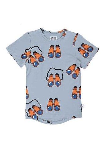 Binocular t-shirt drop