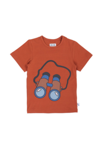 Binocular t-shirt print