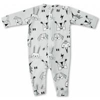Raspberry Republic Pyjamasuit Masquerade grijs