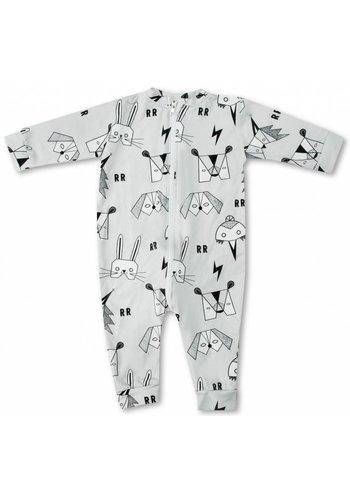 Pyjamasuit Masquerade grijs