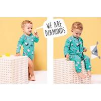 thumb-Rapsberry Republic Pyjamasuit Diamonds-5