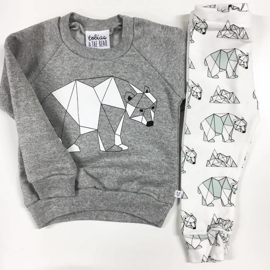 Tobias and the Bear Sweater Polar Bear-2