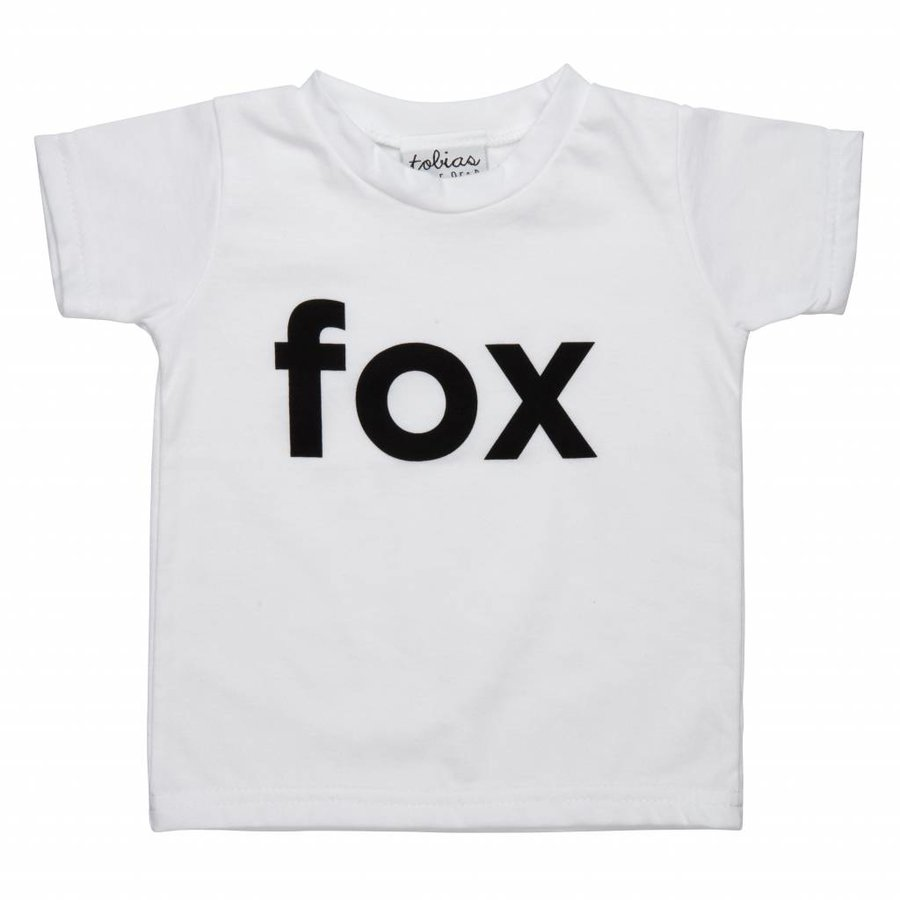 Tobias & The Bear T-shirt I'm a Fox-1
