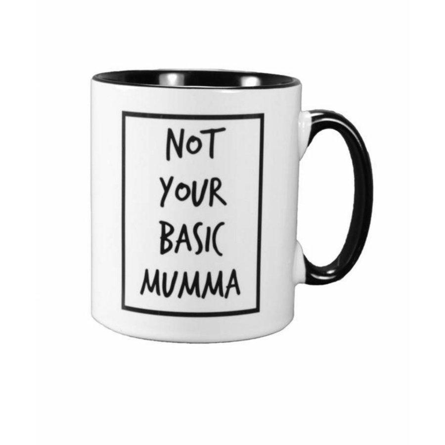 Cribstar porseleinen mok/koffietas Not Your Basic Mumma-1