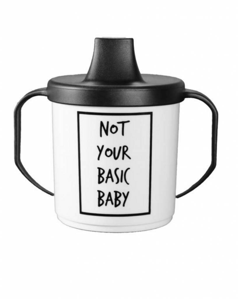 Basic Babykleding.Cribstar Drinkbeker Not Your Basic Baby Minimonsters
