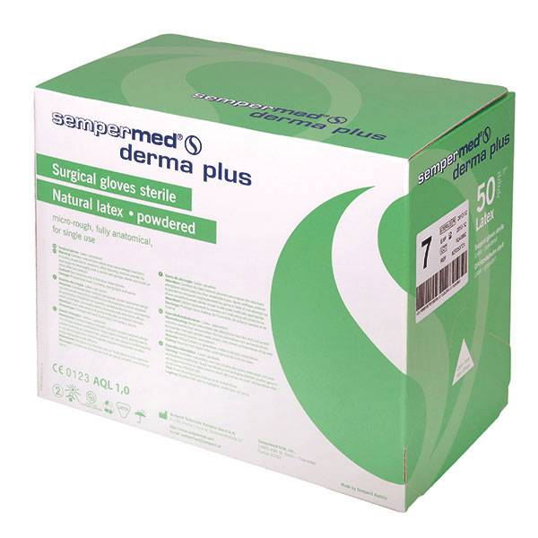 Sempermed® Derma Plus surgical gloves