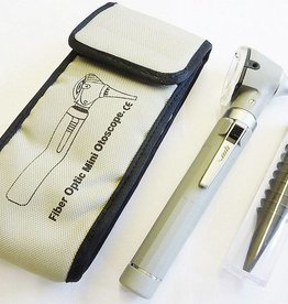 Medische Vakhandel Mini Otoscoop Fiber Optic Grijs