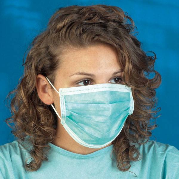 Mediware disposable surgical face mask - ear-loops
