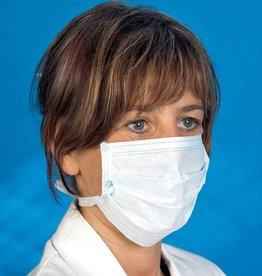 Mediware Mediware Disposable chirurgische gezichtsmasker - met 4 banden