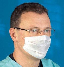 Mediware Mediware Einmal Mundschutz mit Ohrschlaufen, 2-lagig