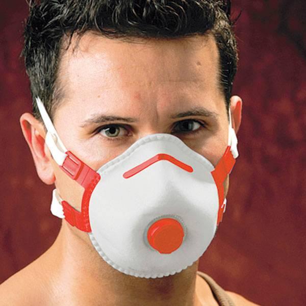 Filtering half mask - FFP3/V pieces