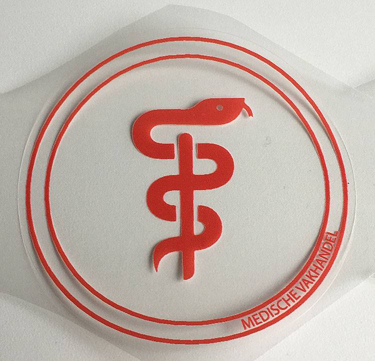 Aesculapius sticker - doctors