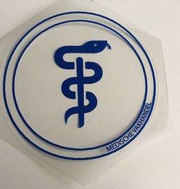 Medische Vakhandel Aesculapius sticker - obstetrician