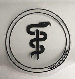 Medische Vakhandel Aesculaap sticker voor tandarts