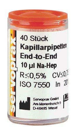 Servoprax® Ersatzkapillaren für Clear Test