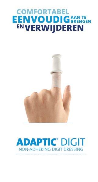 Systagenix Adaptic Digit 10 pieces finger dressing