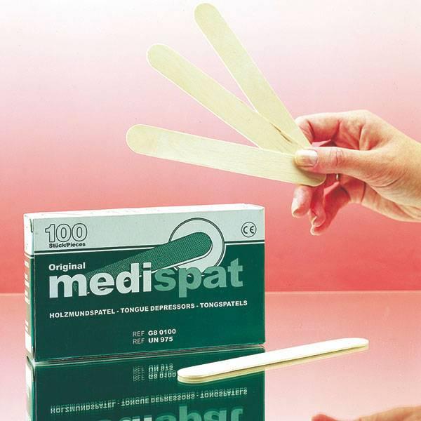 Medispat houten tongspatels verzegeld 100 stuks