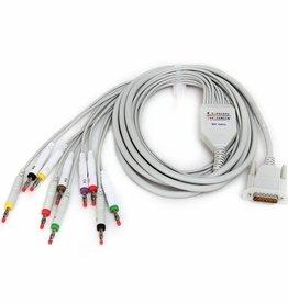 Contec EKG-Kabel mit 12 Ableitungen für Contec ECG 100G / ECG300G / 600G / 1200G