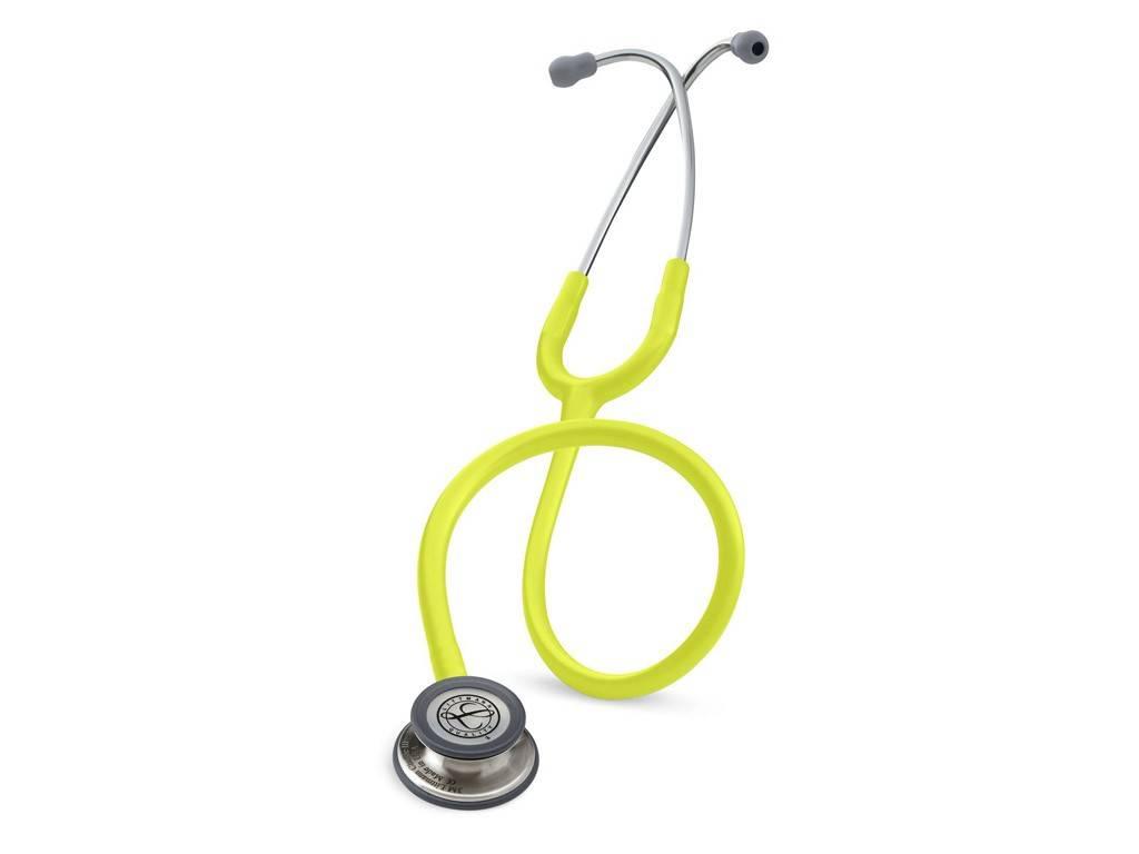 """LITTMANN® """"CLASSIC III"""" Stethoskop - 5839 - zitronengelb"""