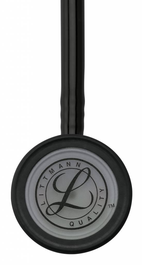 "LITTMANN® ""CLASSIC III"" Stethoscoop - 5811 - Black w/ Smoke Chestpiece"