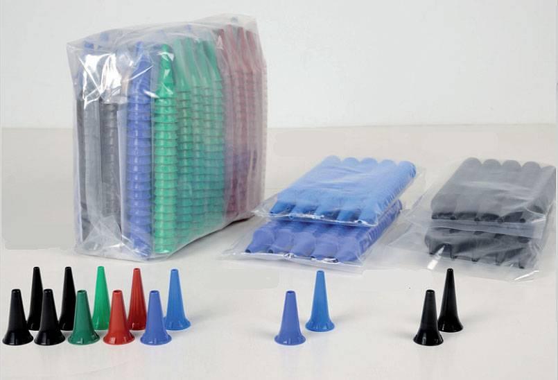 Oortips 4 mm volwassenen 2,5 mm kind kleurenmix 1000 stuks