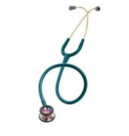 LITTMANN Littmann Classic II Pediatrische Stethoscoop - Rainbow-Finish - Caribbean Blue