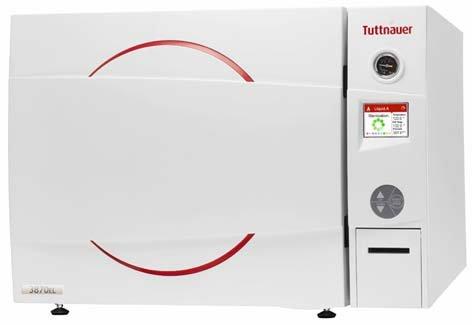 Tuttnauer autoclaaf automatic D-Line Class S 85 liter