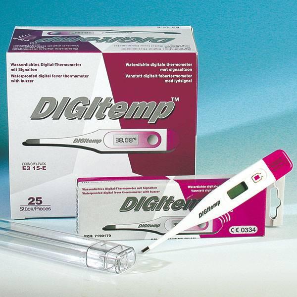 Digitemp™ Digital Medical Thermometer