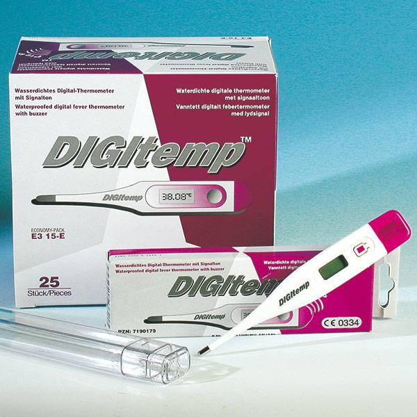 Digitemp ™ Electronic fever thermometer