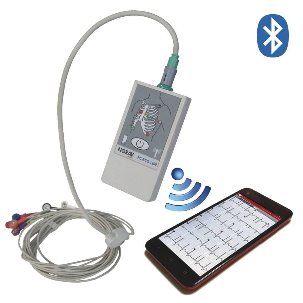 Norav 1200 Blue - PC Based Rest ECG System
