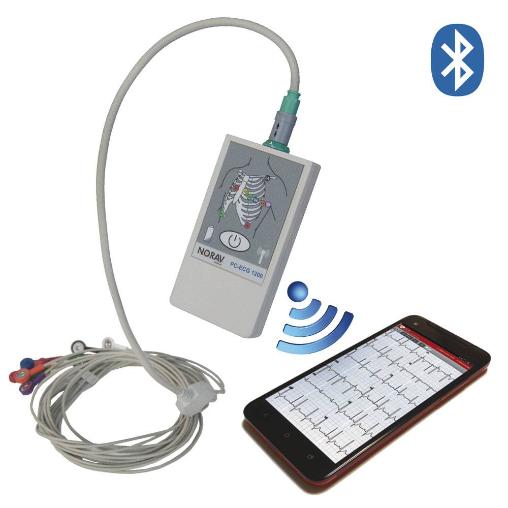 Norav 1200 Blue - PC-basiertes EKG-System