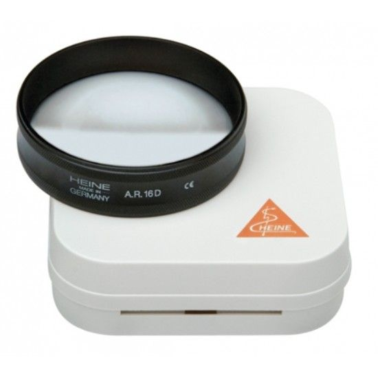 Heine lens aspherical