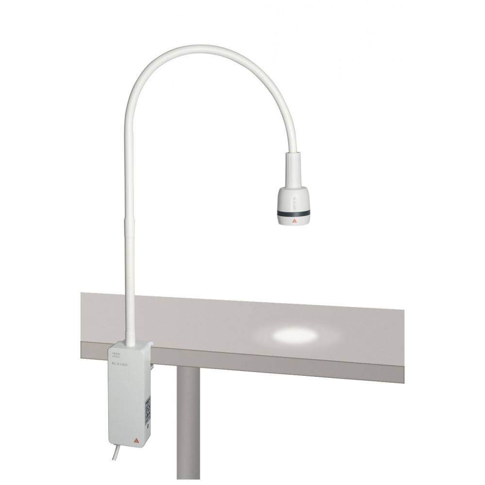 Heine EL 3 LED Examination Light  with clamp for table-top mounting