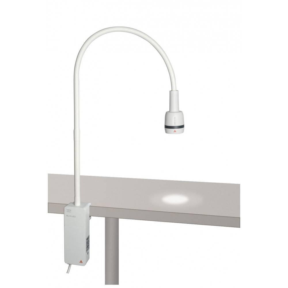 Heine EL 3 LED mit Klemmhalterung zur Tischmontage