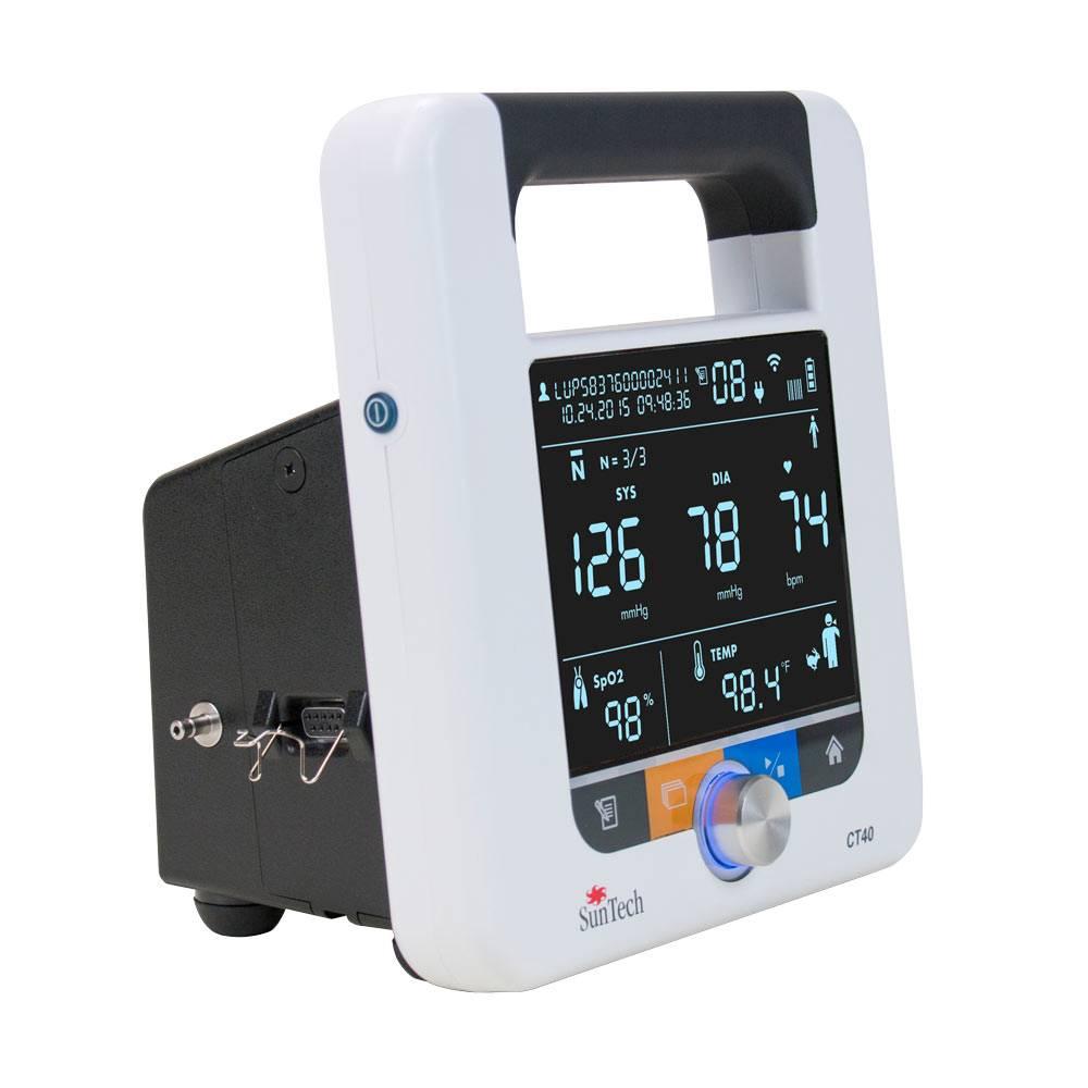 SunTech CT40™ gemiddelde van 5 metingen in 18 minuten