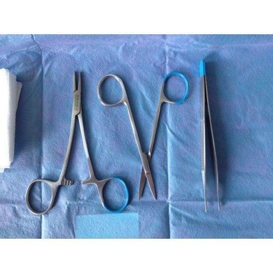Steriles Nahtset mit Einweginstrumenten