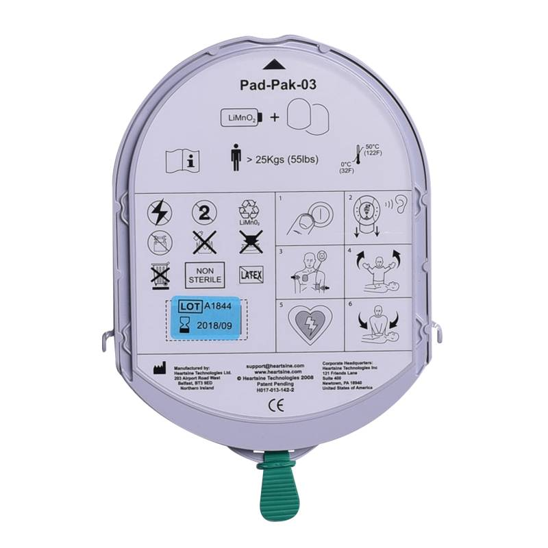 Heartsine Samaritan 360P AED Package with bag - Exchange discount € 150,-