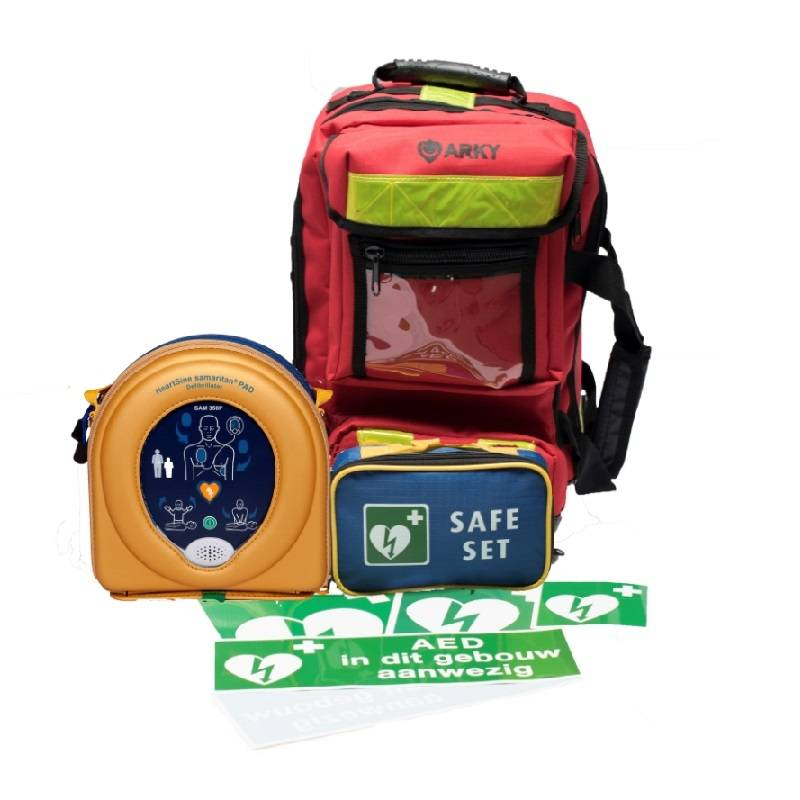 Heartsine Samaritan 500P AED Package with bag - Exchange discount € 150,-