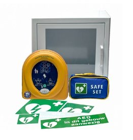 HeartSine Heartsine Samaritan 500P AED Pakket met kast - Inruilkorting van € 150,-