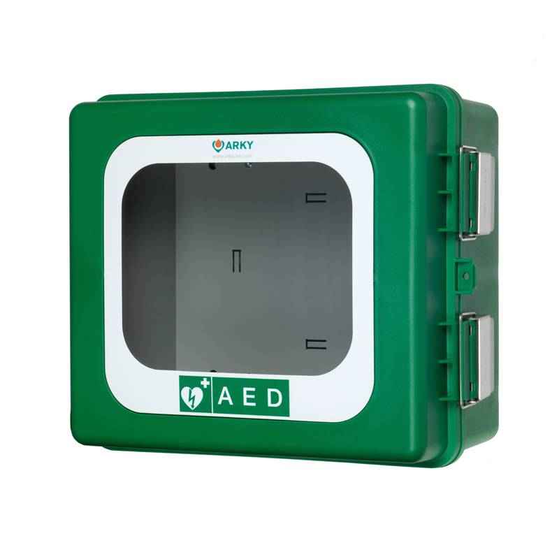 Plastic AED Outdoors cabinet