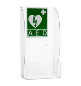 HeartSine Plexiglas wall bracket for AED