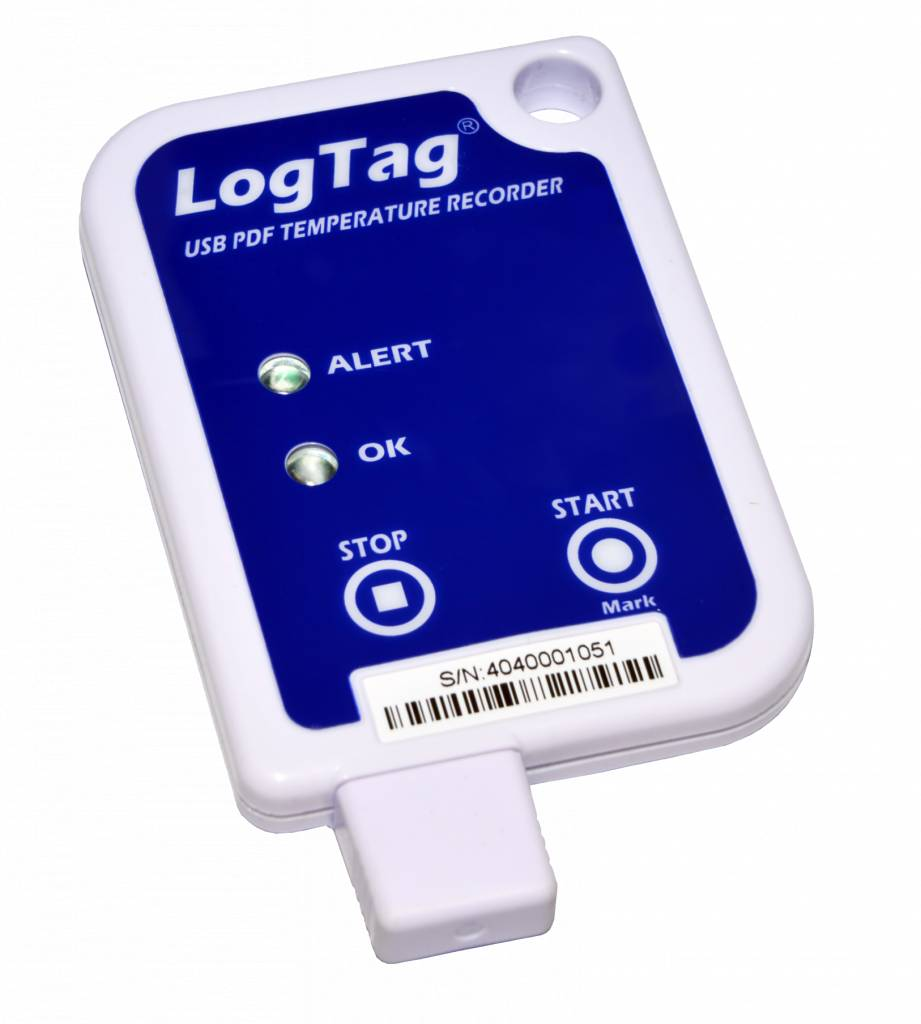 Utrix-16 USB PDF temperatuur datalogger