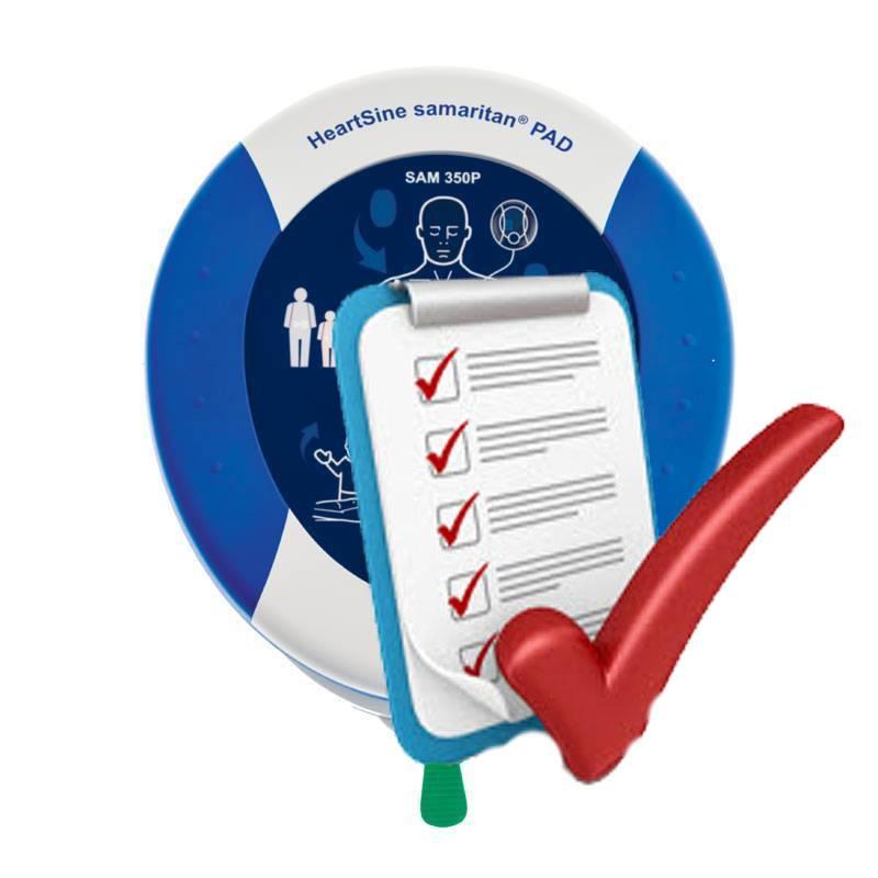AED Heartsine service/onderhoudsabonnement