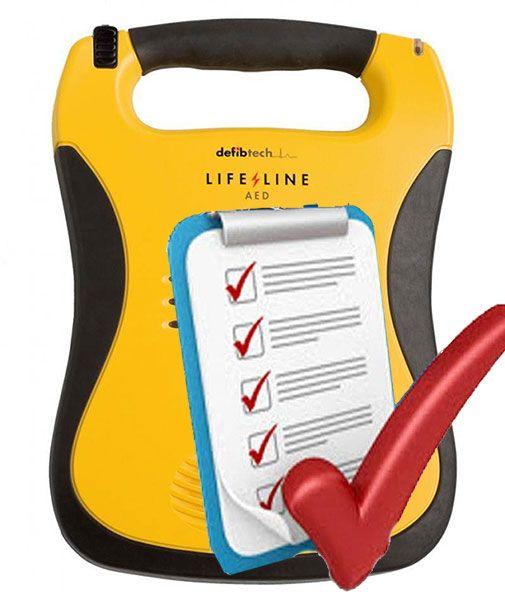 AED Defibtech Lifeline service / onderhoud - only NL